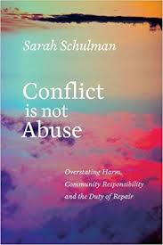 conflict is not abuse book cover